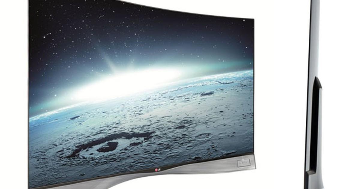 TV de tela curva de 55 polegadas da LG chega ao Brasil por R$ 40 mil