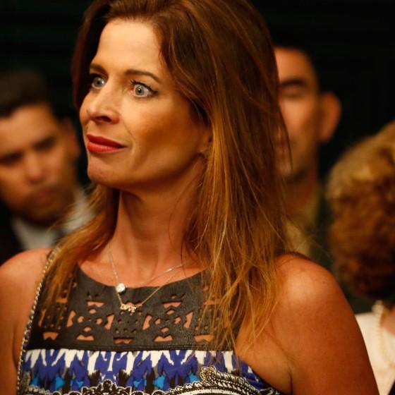 Claudia Cruz esposa do ex deputado Eduardo Cunha (Foto:  DIDA SAMPAIO/ESTADÃO CONTEÚDO)