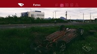 Carro fica abandonado na Rodovia Darly Santos após acidente em Vila Velha