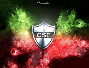 Escudo do CSE, criado pelo designer Tom Carvalho (Foto: Tom Carvalho/Arquivo Pessoal)