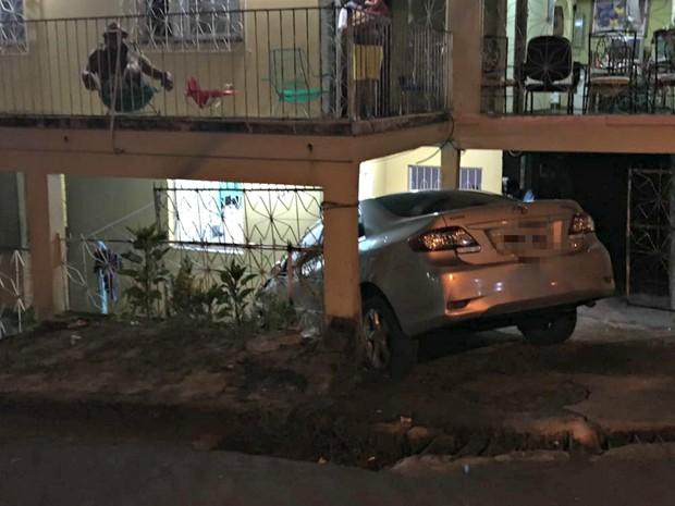 Ninguém ficou ferido em ocorrência (Foto: Indiara Bessa/G1 AM)