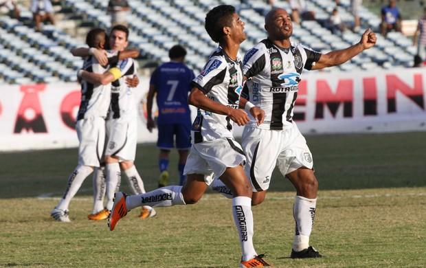 Treze 4 x 0 Águia de Marabá (no Estádio Amigão, pela Série C) (Foto: Leonardo Silva / Jornal da Paraíba)