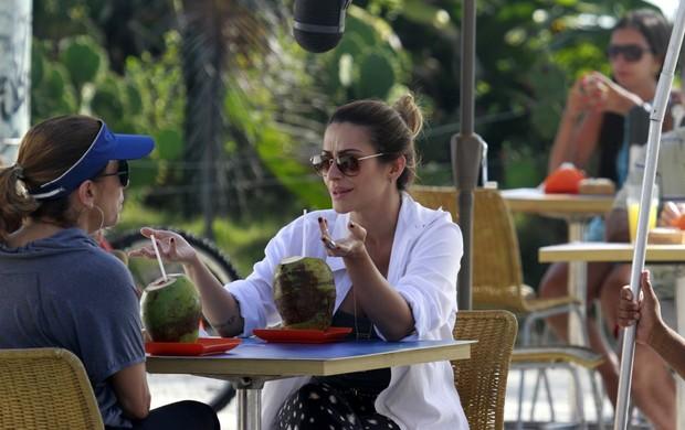 """Cleo Pires e Cissa Guimarães gravam """"Salve Jorge"""" (Foto: Delson Silva / AgNews)"""