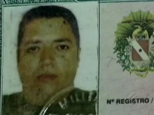 Ronielvis Souza Santos tinha 36 anos e não estava mais exercendo atividades como policial. (Foto: Reprodução/TV Liberal)