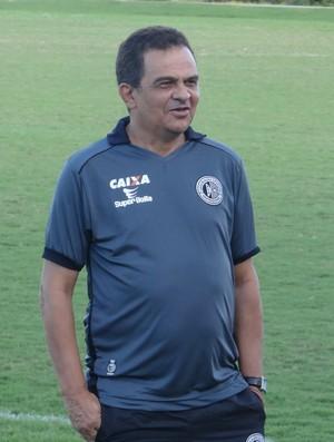 Francisco Diá, técnico do ASA (Foto: Leonardo Freire/GloboEsporte.com)