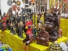 Feira internacional de artesanato traz joias de Dubai e pedras do Himalaia