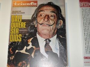 Capa de revista com Salvador Dalí (Foto: Isabela Marinho/G1)