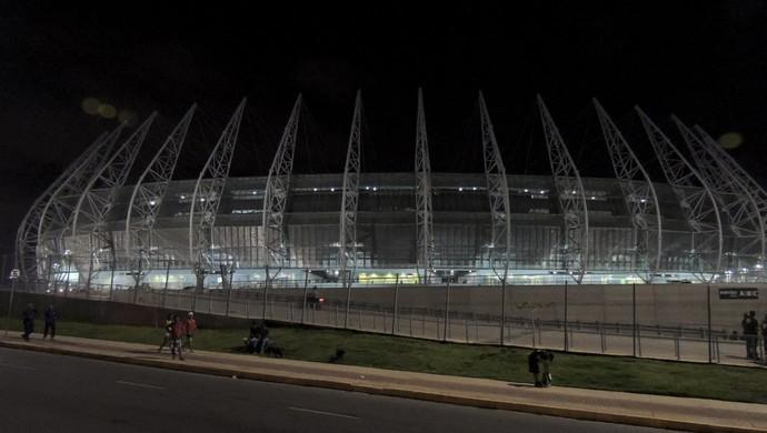 Arena Castelão Ceará x Sport Copa do Nordeste (Foto: Elton de Castro)
