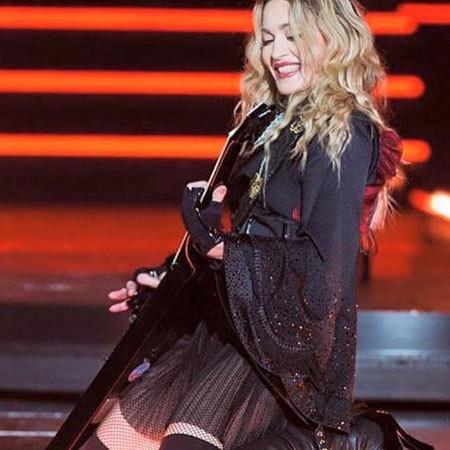 Madonna - cantora estreou a turnê em Montreal (Foto: Reprodução Instagram)