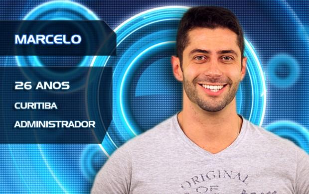 Marcelo (Foto: TV Globo/BBB)
