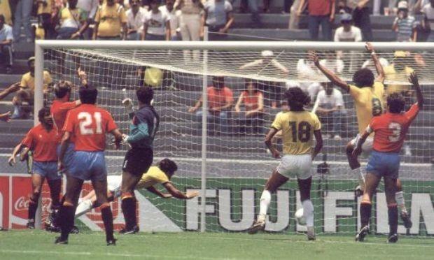Brasil x Espanha na Copa do Mundo de 1996 (Foto: CBF)