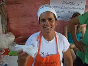 'Bodioca' é o prato típico mais procurado na culinária do 'Bode Rei' (Foto: Taiguara Rangel/G1)