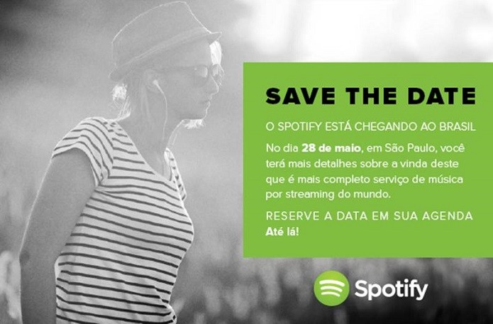 Spotify marcou evento para fim de maio (Foto: Divulgação/Spotify)