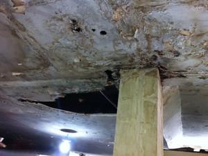 Padaria é interdita por condições precárias de higiene em Setúbal (Foto: Divulgação/ Vigilância Sanitária)