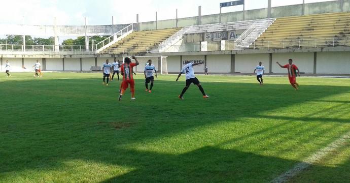 Sparta vence o União por 2 a 1 no estádio  Miranão  (Foto: Lucas Ferreira/ TV Anhanguera )