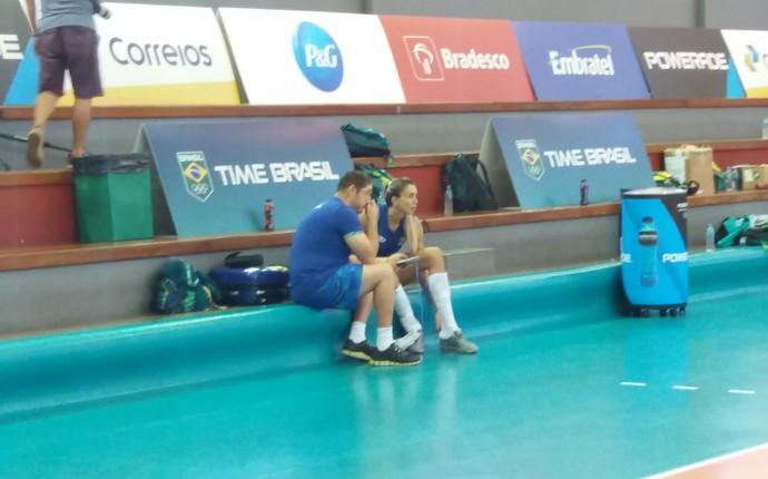 Thaísa; vôlei; olimpíadas; seleção brasileira (Foto: João Gabriel Rodrigues)