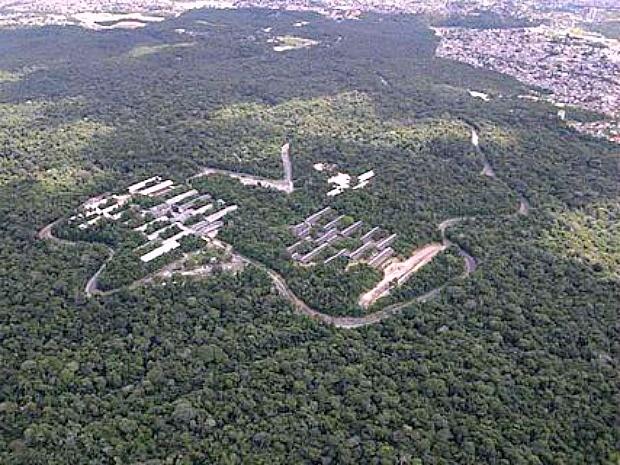Campus da Ufam fica localizado em uma APA  (Foto: Divulgação/Ufam)