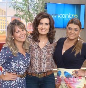 Madrinha, Preta entrega segredo de Fê e Thiaguinho (Encontro com Fátima Bernardes/ TV Globo)
