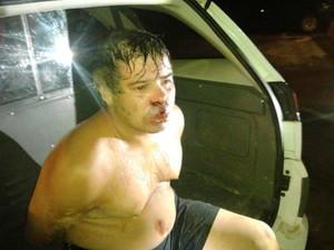 Motorista de carreta confessa ter usado drogas no dia de sequência de acidentes na Zona Oeste de Sorocaba (Foto: Adriana Fratini/Band FM)