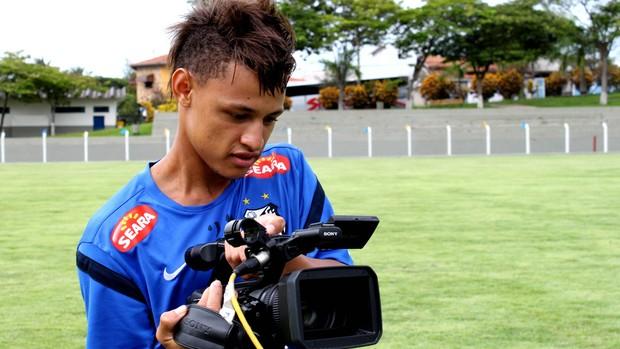 Neilton Santos (Foto: Vinicius Vieira/Divulgação Santos FC)