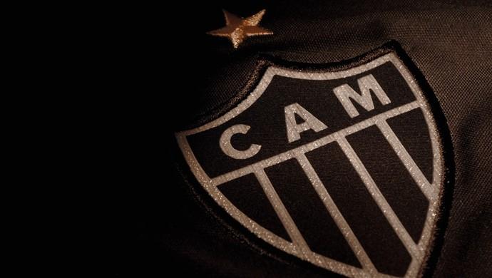 Detalhe da camisa 3 do Atlético-MG (Foto: Reprodução)