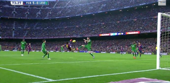 Luis Suárez Barcelona Levante (Foto: Reprodução / YouTube)
