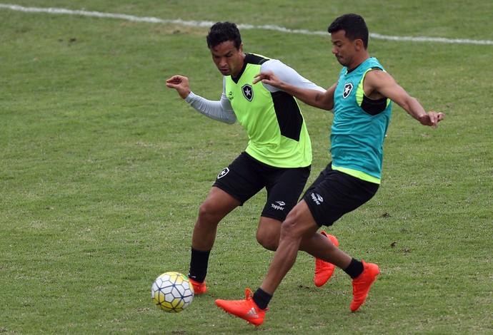 Dudu Cearense, Lindoso, Botafogo (Foto: Vitor Silva/SSPress/Botafogo)