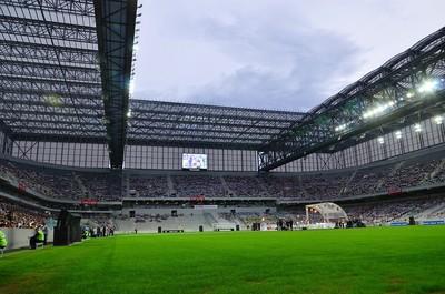 Gramado Arena da baixada (Foto: Gel Lima / Agência Estado)