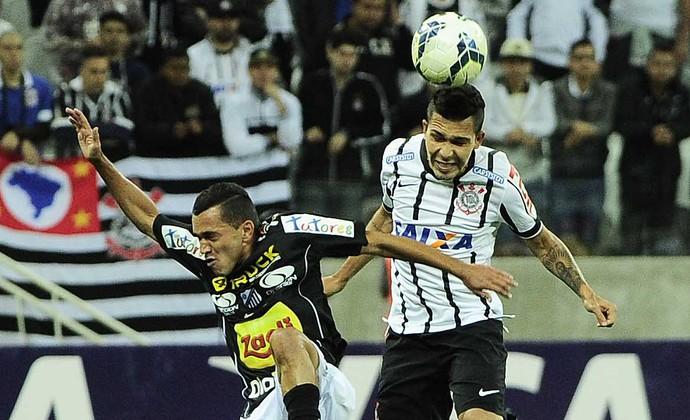 Petros Corinthians x Bragantino (Foto: Marcos Ribolli/GloboEsporte.com)