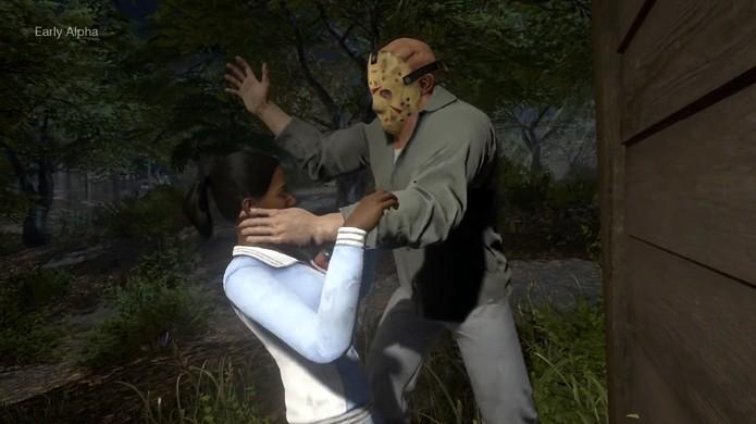 Friday the 13th: The Game apresenta execuções violentas do assassino Jason de Sexta-Feira 13 (Foto: Reprodução/YouTube)