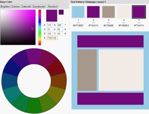 Colorspire,cores de layout para sites