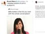 Gretchen faz a íntima de Bruno Mars após gif dela parar no Twitter do cantor