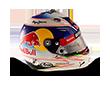 Capacete Formula 1 2016 - Ricciardo