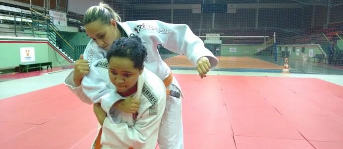 Aiury Lima diz que sonho é disputar uma olimpíadas (Foto: Thaís Fullin)
