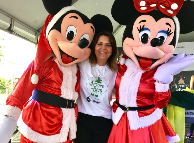 Além de shows, tiveram muitas atrações para as crianças no evento do Árvore do Bem (Foto: RBS TV/Divulgação)