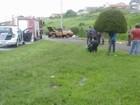 Feirante morre ao capotar carro na Marginal do Chá em Itapetininga