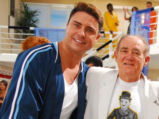 Marcelo Augusto trabalhou mais de dez anos com Renato Arago (Foto: Mrcio de Souza / TV Globo)
