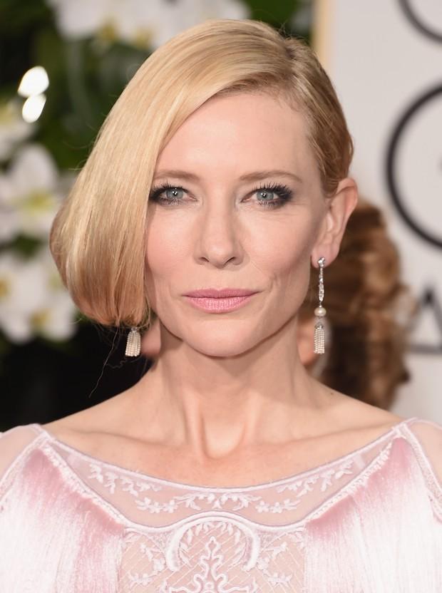 Cate Blanchett no Globo de Ouro (Foto: AFP)