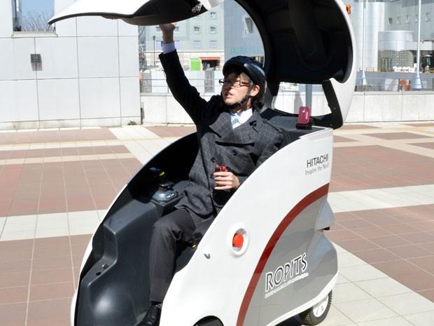 Nova tecnologia pode ser controlada por um joystick (Foto: YOSHIKAZU TSUNO/AFP)