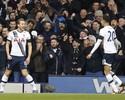 Kane faz dois gols, Tottenham vence confronto londrino e encosta no G4