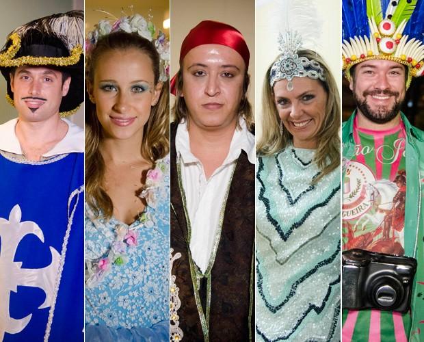 Luigi, Anik, Cláudio, Marcia e Rafael são os concorrentes a R$ 10 mil (Foto: Mais Você / TV Globo)