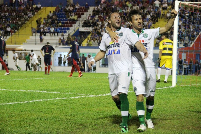 Rodrigo Gral chapecoense (Foto: Diego Carvalho - Aguante/Chapecoense)