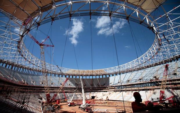 Estádio nacional mané garrincha brasília (Foto: Agência AP)