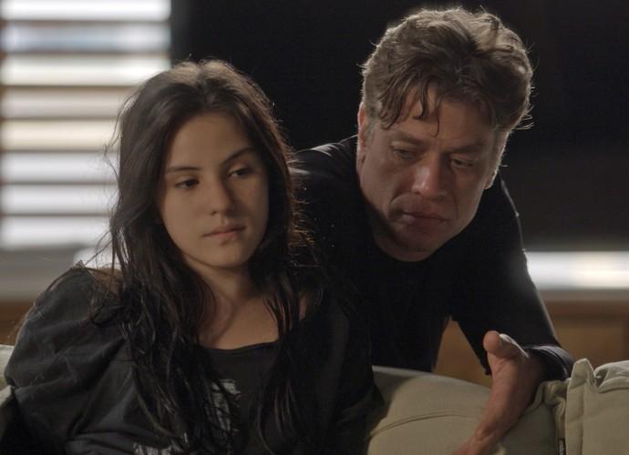 Jojô pede para Arthur namorar Eliza (Foto: TV Globo)