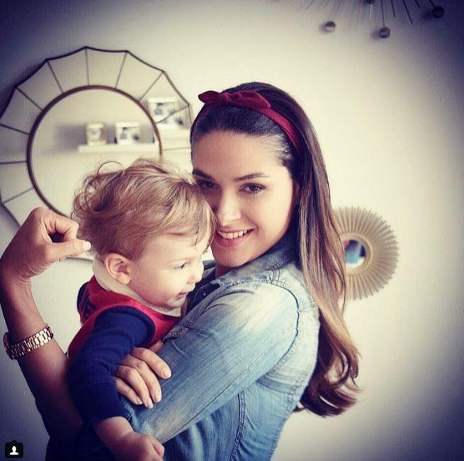 Fernanda Machado e Lucca (Foto: Instagram / Reprodução)