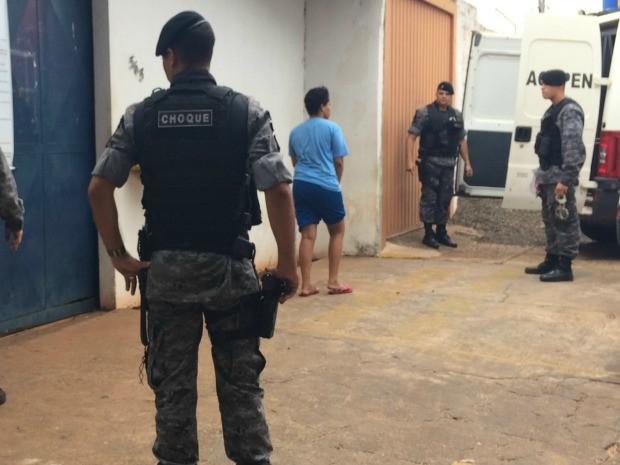 Detentas foram tranferidas do presídio (Foto: Maria Caroline Palieraqui/G1 MS)