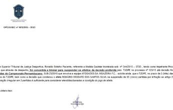 FPF aguarda definição do STJD para se pronunciar sobre caso da Série A2