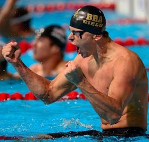 cesar cielo natação ouro natação barcelona (Foto: AFP)