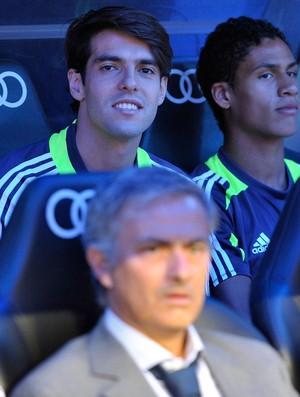 Kaká real madrid banco de reservas (Foto: Agência AP)