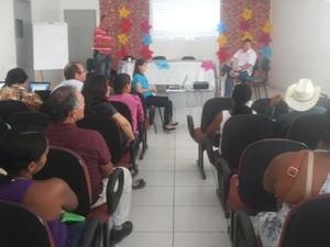Produtores de orgânicos de Petrolina,PE, criam associação (Foto: Carol Souza / G1)